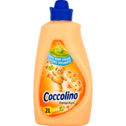 Coccolino Orange Rush Płyn do płukania tkanin koncentrat 2 l (57 prań)