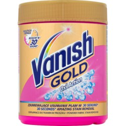 Vanish Gold Oxi Action Odplamiacz do tkanin w proszku 470 g