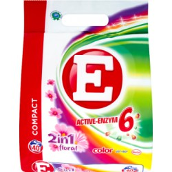 E Active-Enzym 6 2in1 Floral Color Proszek do prania 3 kg (40 prań)