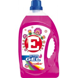 E Active Gel Color Żel do prania 4,38 l (60 prań)