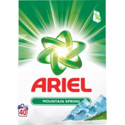 Ariel Mountain Spring Proszek do prania 3 kg, 40 prań