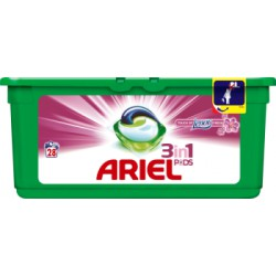 Ariel Touch Of Lenor Fresh 3 w 1 Kapsułki do prania, 28 prań