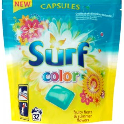 Surf Color Fruity Fiesta & Summer Flowers Kapsułki do prania 841 g (32 sztuki)