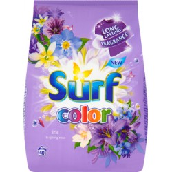 Surf Color Iris & Spring Rose Proszek do prania 2,8 kg (40 prań)