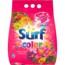 Surf Color Tropical Lily & Ylang Ylang Proszek do prania 4,2 kg (60 prań)