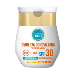 Emulsja do opalania Golden Sun wodoodporna SPF30 50ml