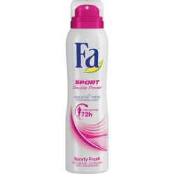 Fa Sport Double Power Sporty Fresh Dezodorant w sprayu 150 ml
