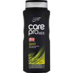 Luksja Care Pro Men Sport 2w1 Żel pod prysznic 500 ml