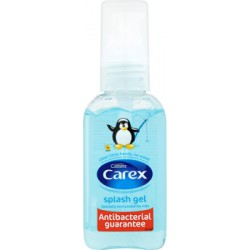 Carex Splash Antybakteryjny żel do rąk 50 ml