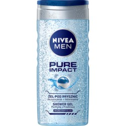 NIVEA MEN Pure Impact Żel pod prysznic 250 ml