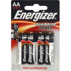 Energizer Alkaline Power AA-LR6 1,5V Baterie alkaliczne 4 sztuki
