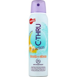 C-Thru In Action Fresh & Clean Antyperspirant 150 ml