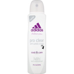 Adidas for Women Pro Clear Anti-White Marks Dezodorant antyperspirant 150 ml