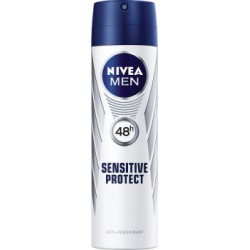 NIVEA MEN Sensitive Protect 48 h Antyperspirant w aerozolu 150 ml
