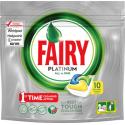 Fairy Kapsułki do zmywarki Platinum All In One Lemon 10 sztuk