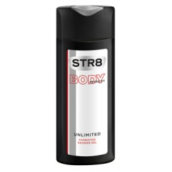 STR8 Unlimited Body Refresh Nawilżający żel pod prysznic 400 ml