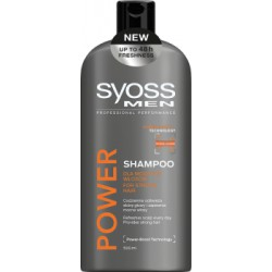 Syoss Men Power Szampon 500 ml