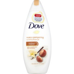 Dove Purely Pampering Shea Butter with Vanilla Odżywczy żel pod prysznic 250 ml