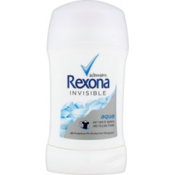 Rexona Invisible Aqua Antyperspirant w sztyfcie 40 ml
