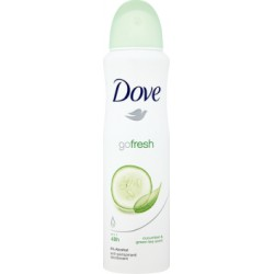 Dove Go Fresh Cucumber and Green Tea Antyperspirant w aerozolu 150 ml