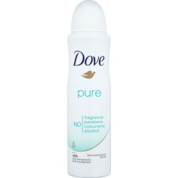 Dove Pure Antyperspirant w aerozolu 150 ml