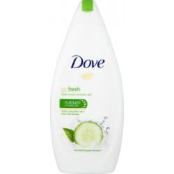 Dove Go Fresh Cucumber & Green Tea Scent Odżywczy żel pod prysznic 500 ml