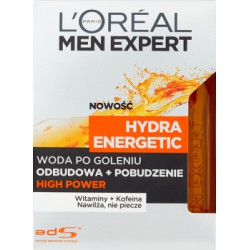 Loreal Paris Men Expert Hydra Energetic Woda po goleniu High Power 100 ml