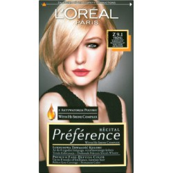 Loreal Paris Recital Preference Farba do włosów Z 9.1 Viking