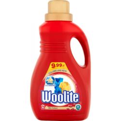 Woolite Do kolorów z keratyną Płyn do prania 1 l (16 prań)