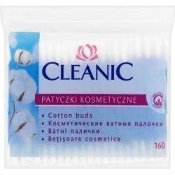 Cleanic Patyczki kosmetyczne 160 sztuk