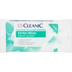 Cleanic Extra Fresh Chusteczki do higieny intymnej 10 sztuk