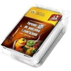Jan Niezbędny Foremki aluminiowe do pieczenia i zamrażania 3szt