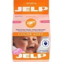 JELP Color Soft Specjalistyczny proszek i środek zmiękczający do prania odzieży dziecięcej 1,6 kg