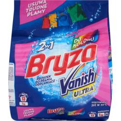 Bryza Vanish Ultra 2w1 do koloru Proszek do prania i odplamiacz 1 kg
