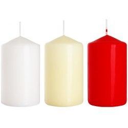 Bispol świeca walec sw60/100 biała