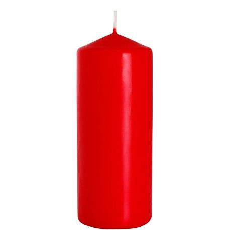 Bispol świeca walec sw60/150 czerwona