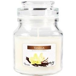 Bispol świeca zapachowa w szkle z wieczkiem słoik Wanilia