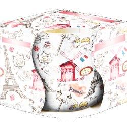 Bispol świeca zapachowa w szkle i folii Paryż
