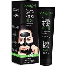 Marion Detox Czarna Maska Peel-Off z Aktywnym Węglem