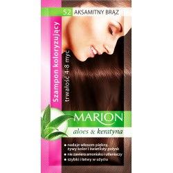 Marion szampon koloryzujący 52 Aksamitny Brąz saszetka 40ml
