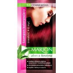 Marion szampon koloryzujący 57 Ciemna Wiśnia saszetka 40ml