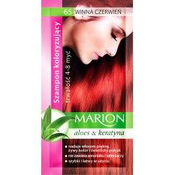 Marion szampon koloryzujący 65 Winna Czerwień saszetka 40ml