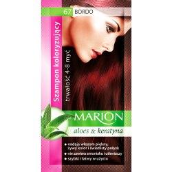 Marion szampon koloryzujący 67 Bordo saszetka 40ml