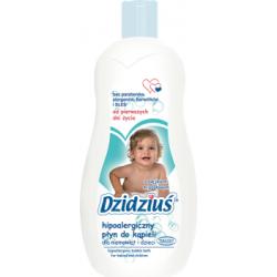 Dzidziuś Hipoalergiczny płyn do kąpieli dla niemowląt i dzieci 500 ml