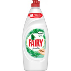 Fairy Sensitive Teatree & Mint Płyn do mycia naczyń 650 ml