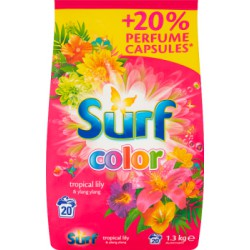 Surf Color Tropical Lily & Ylang Ylang Proszek do prania 1,3 kg (20 prań)