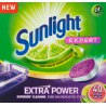 Sunlight Expert Extra Power Citrus Fresh Tabletki do zmywarki 700 g (40 sztuk)