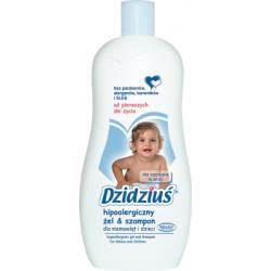Dzidziuś Hipoalergiczny żel & szampon dla niemowląt i dzieci 500 ml