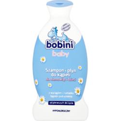 Bobini Baby Szampon i płyn do kąpieli dla niemowląt i dzieci 400 ml