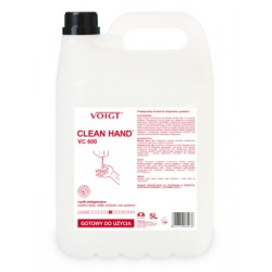 Voigt VC600 Clean Hand Mydło Białe 5L